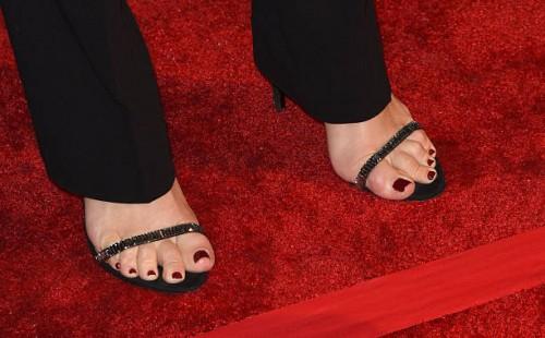 Spencer feet laura Lara Spencer